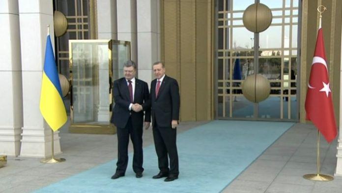 Ukrayna Devlet Başkanı Beştepe'de