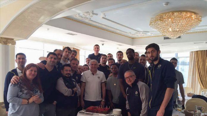 Obradovic'in doğum günü kutlandı