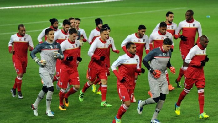 Braga Fenerbahçe maçına hazır