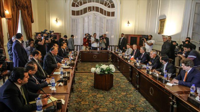 Fransa Dışişleri Bakanı Ayrault'un Mısır ziyareti