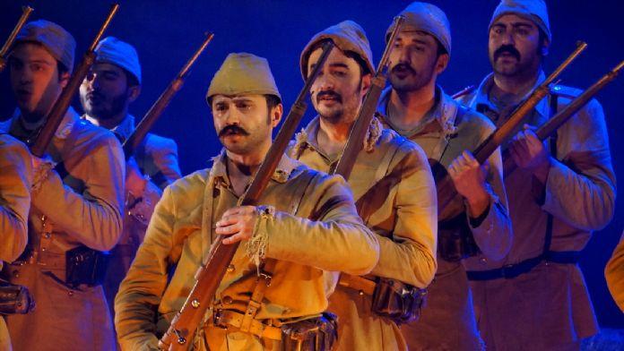 '57. Alay' tiyatro oyunu Edirne'de sahnelendi