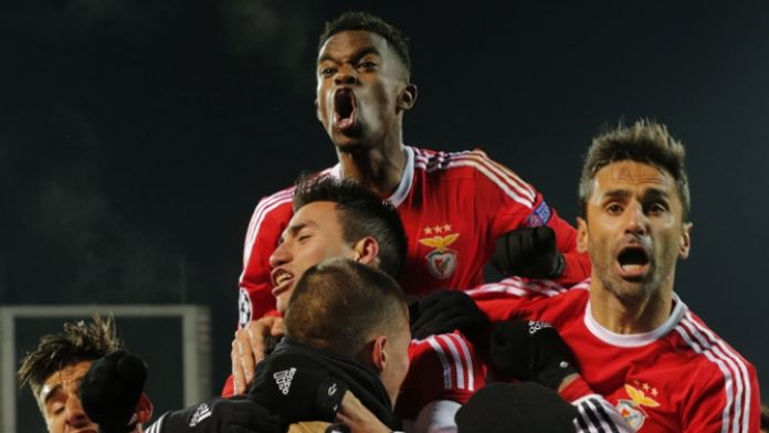 Benfica çeyrek finalde