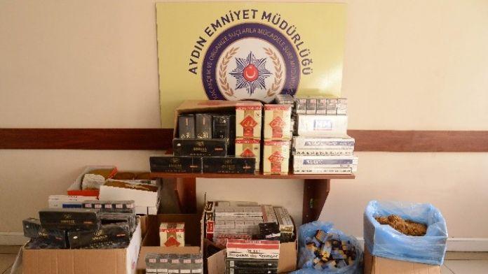 Aydın'da 3800 Paket Kaçak Sigara Yakalandı