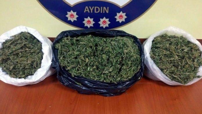 Aydın'da 1,8 Kilo Uyuşturucu Madde Ele Geçirildi