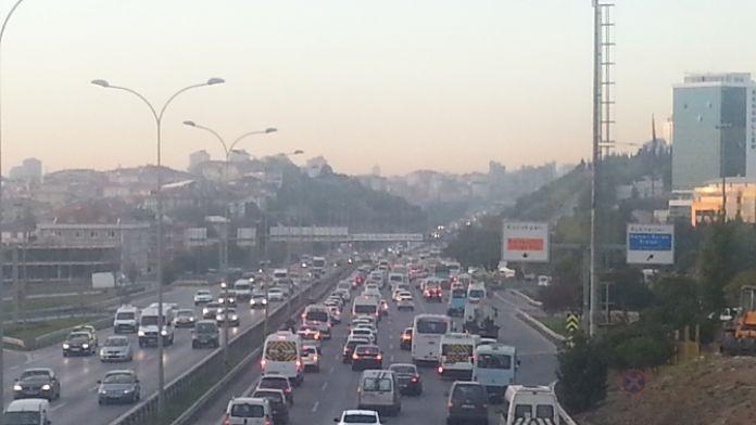 İstanbul'daki araç sayısı 19 ilin nüfusunun toplamından fazla