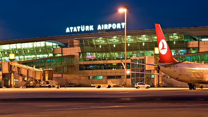 Atatürk Havalimanı'nda Virüs Alarmı !