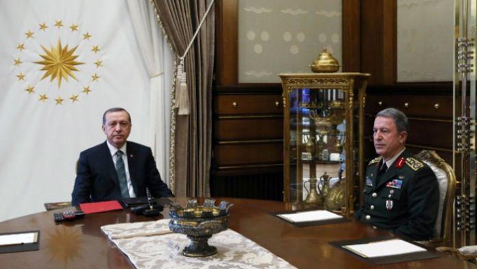 Genelkurmay Başkanı Beştepe'de