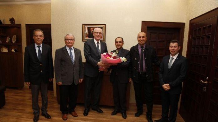 Tkd Eskişehir Şubesi Üyelerinden Başkan Kurt'a Ziyaret