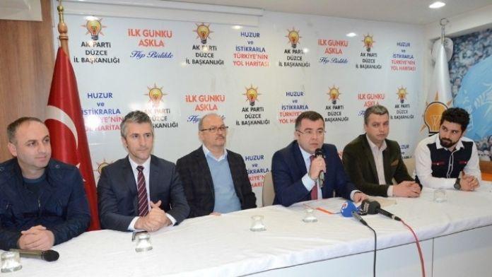 AK Parti İl Başkanı Keskin 'Biz Şov Yapmıyoruz, İcraat Yapıyoruz'