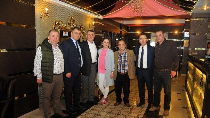Samsun TSO Yönetimi'nden, 'Hayırlı Olsun' Ziyareti