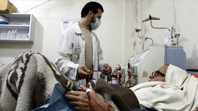 Doğu Guta'da böbrek hastaları ölümle karşı karşıya