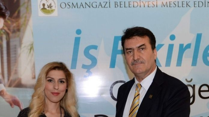 Geleceğin İşverenlerine Osmangazi Belediyesi'nden Sertifika
