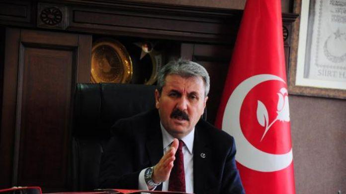 Destici: PKK'lı milletvekillerinin dokunulmazlıkları kaldırılsın