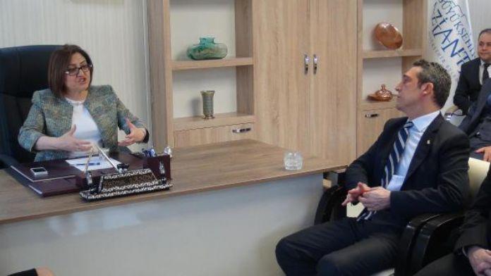 TÜSİAD heyetinden Fatma Şahin'e ziyaret