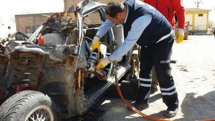İzmir Büyük Şehir Belediyesinden Avanos İtfaiyesini Malzeme Yardımı