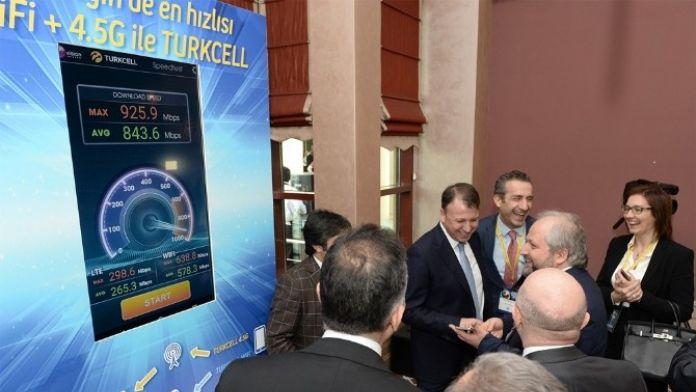 Cto'lar Turkcell 4.5g Hızını Canlı Şebeke Üzerinde Deneyimledi