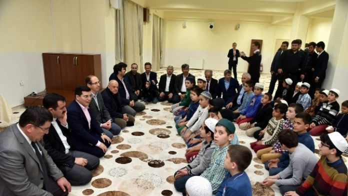 Kepez'de Şehitler İçin Mevlid Okundu