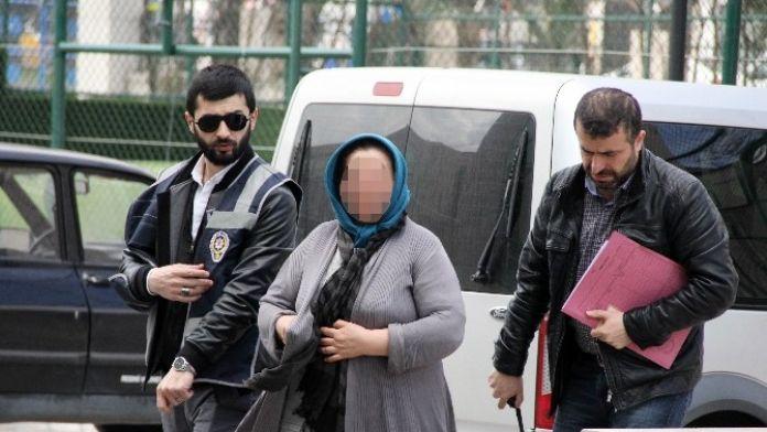 Bavul Çalan Kadın Yakalandı