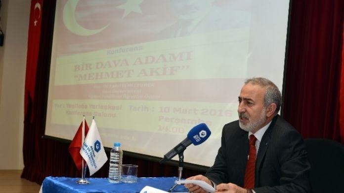 'Bir Dava Adamı Mehmet Akif'