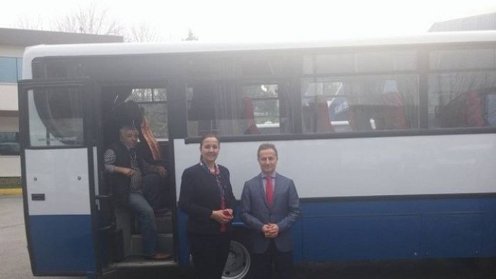 Bakırköy Belediyesinden Saltukova Beldesine Midibüs Hibe Edildi