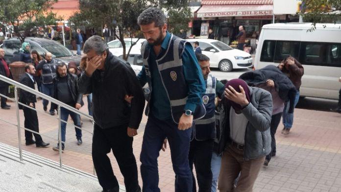 Bankayı 3.5 milyon TL dolandıran kişiler tutuklandı
