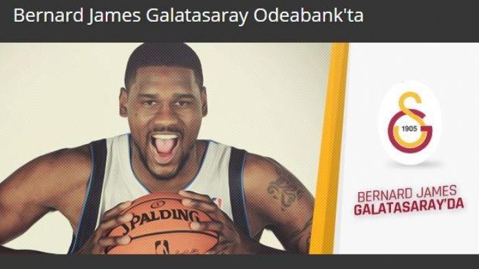 Galatasaray, Bernard James'i Kadrosuna Kattı