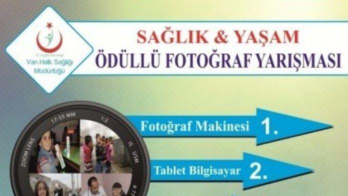 Van'da 'Sağlık Ve Yaşam' Temalı Ödüllü Fotoğraf Yarışması
