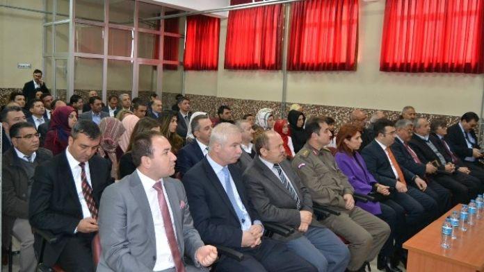 Kulu'da İstiklal Marşı'nın Kabulünün Yıl Dönümü Etkinliği