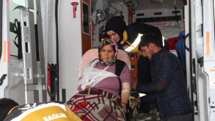 Suşehri'nde sollama kazası: 4 yaralı