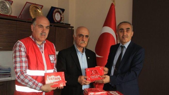 Türk Kızılayı'ndan Anlamlı Hediye