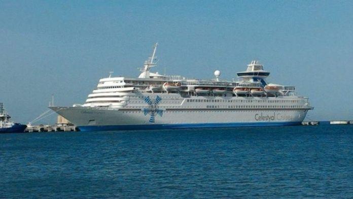 Sezonun İlk Turist Gemisi Kuşadası'na Geldi