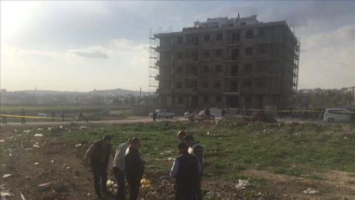 Suriye tarafından atılan 2 roket mermisi, Kilis Emniyet Müdü
