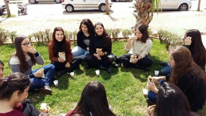 Aydın'da YGS'ye Girecek Öğrenciler Moral Depoladı