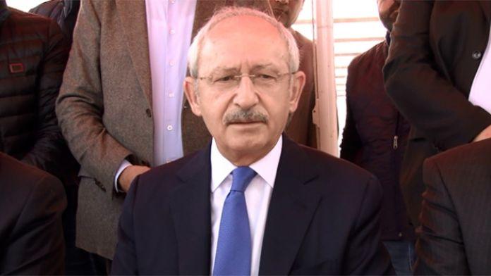 Kılıçdaroğlu Davutoğlu'na seslendi