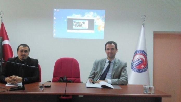 MYO'da İŞKUR İşbaşı Eğitim Programları İle İlgili Eğitim Toplantısı