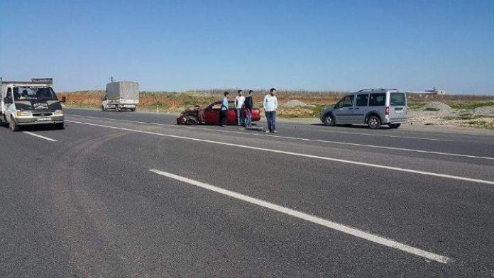 İki Otomobil Çarpıştı: 1 Yaralı