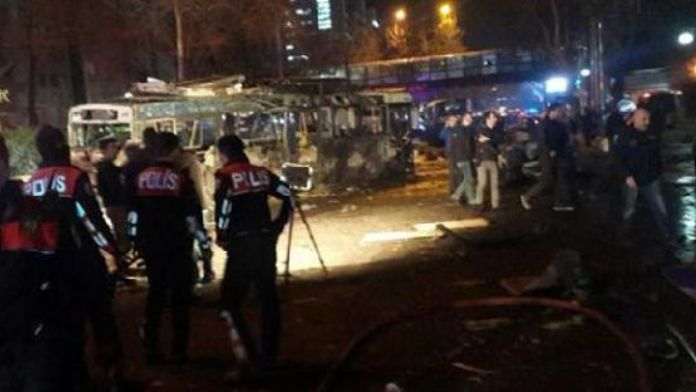 Explosion hits central Ankara, wounded reported