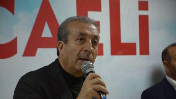 AK Parti Genel Başkan Yardımcısı Mehdi Eker, Partililerle Buluştu