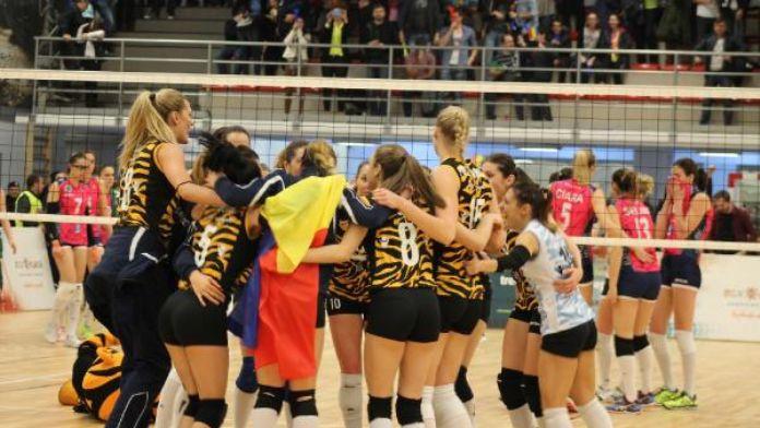 C.S.M. Bükreş-Bursa Büyükşehir: 3-0 (CEV Kupası)