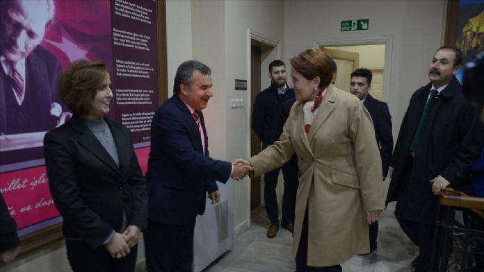 Eski MHP Milletvekili Akşener, Kırklareli'de