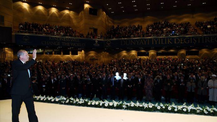 TDV Uluslararası İyilik Ödülleri Töreni
