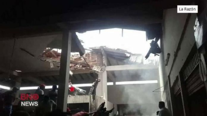 Bolivya'da uçak pazar yerine çakıldı: 7 ölü, 15 yaralı