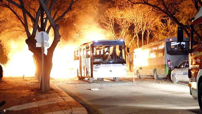 Ankara'daki hain saldırı İskandinavya basınında