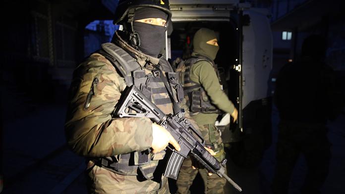 Manisa'daki terör operasyonu