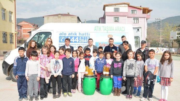 Körfez Belediyesi'nden Çocuklara Geri Dönüşüm Eğitimi