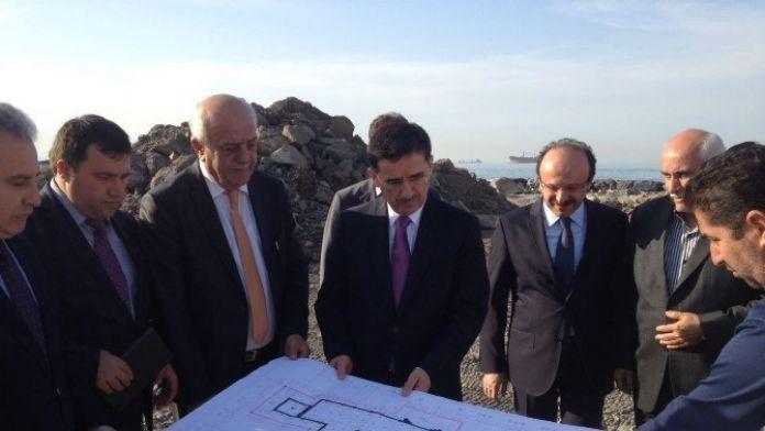 Vali Topaca İskenderun'da Cami İnşaatını İnceledi