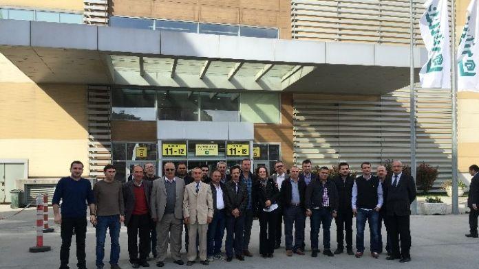 Bozüyük TSO Üyeleri TÜYAP Kapı Pencere Cam Fuarına Katıldı