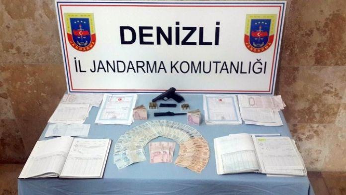 Denizli'de Tefeciliğe 4 Tutuklama