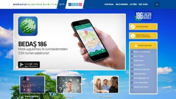 BEDAŞ'ın internet sitesi yenilendi
