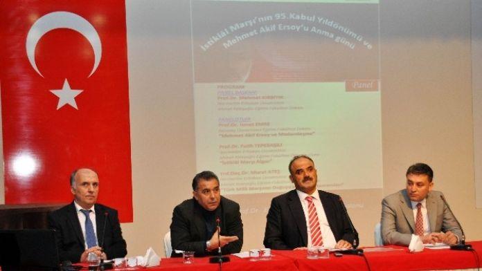 NEÜ'de Mehmet Akif Ersoy Paneli